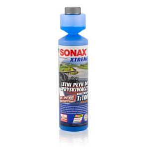 SONAX XTREME Letni Płyn Do Spryskiwaczy Koncentrat 1:100 NanoPro 250 ml. – 271141