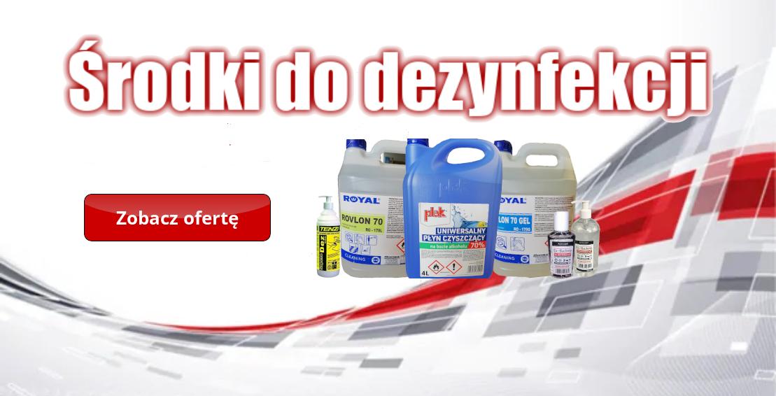 dezynfekcja produkty